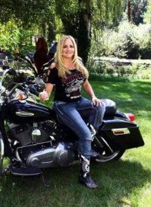 Londa Gatt of Bikers for Trump endorses Ryan D Kelley for Michigan Governor